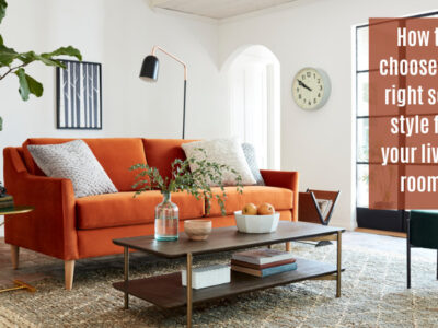 Right sofa style for your living room.